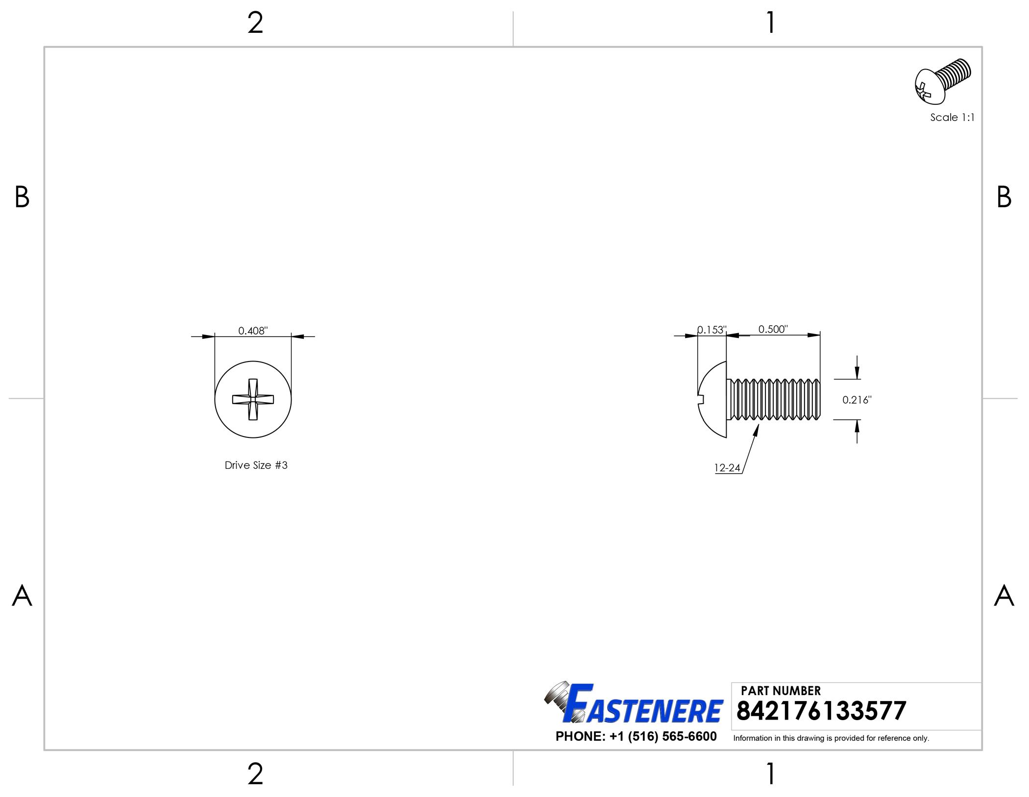10 12-24x1-1//2 Phillips Pan Head Machine Screws Stainless Steel #12 x 1-1//2
